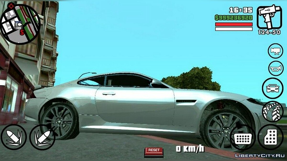 Jaguar XKRS for GTA San Andreas (iOS, Android) - Картинка #2