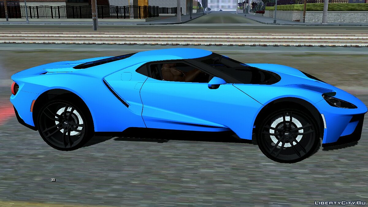 Car Ford GT 2017 for GTA San Andreas (iOS, Android)