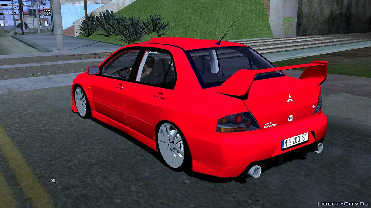 Car Mitsubishi Lancer VIII for GTA San Andreas (iOS, Android)