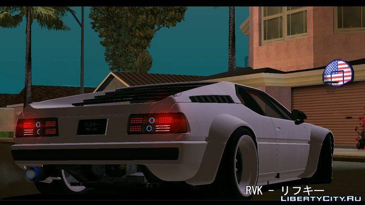 Car BMW M1 for GTA San Andreas (iOS, Android)