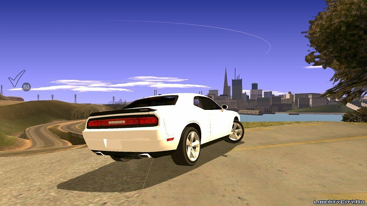 Dodge Challenger SRT8 for GTA San Andreas (iOS, Android) - screenshot #4