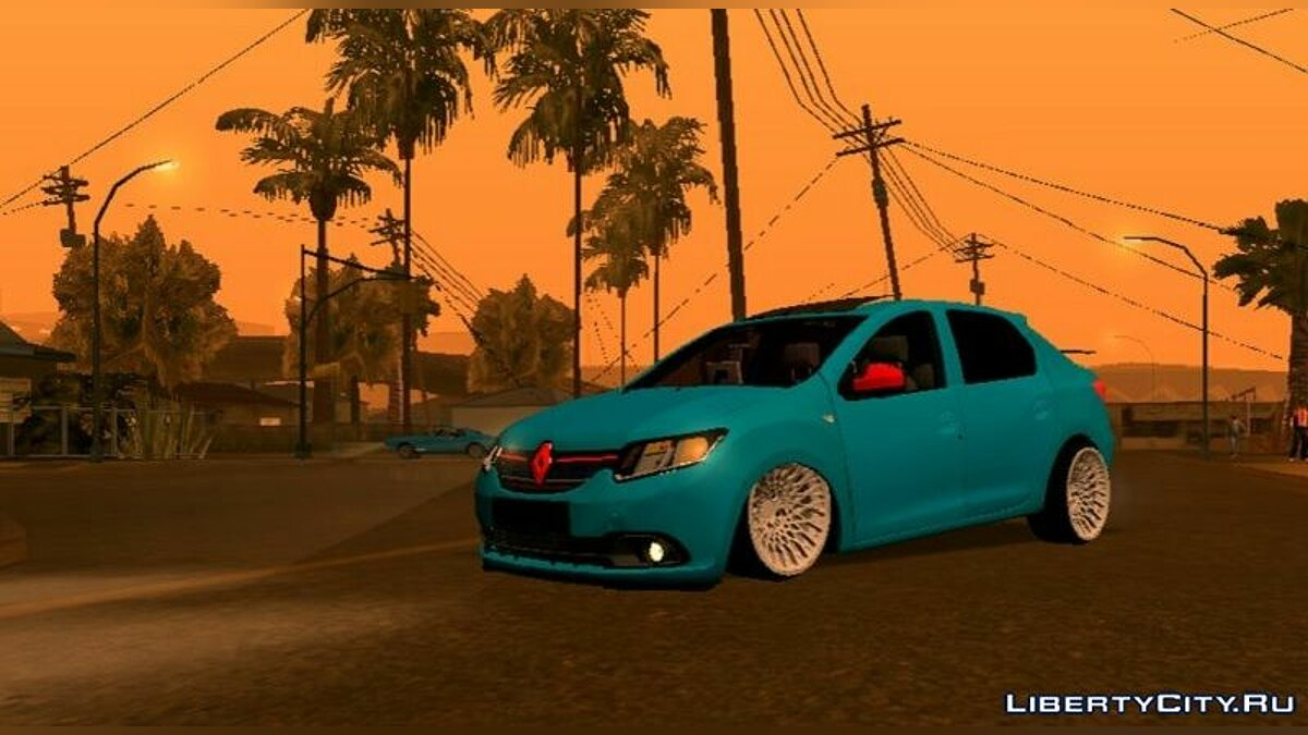 Car Renault Symbol (DFF only) for GTA San Andreas (iOS, Android)