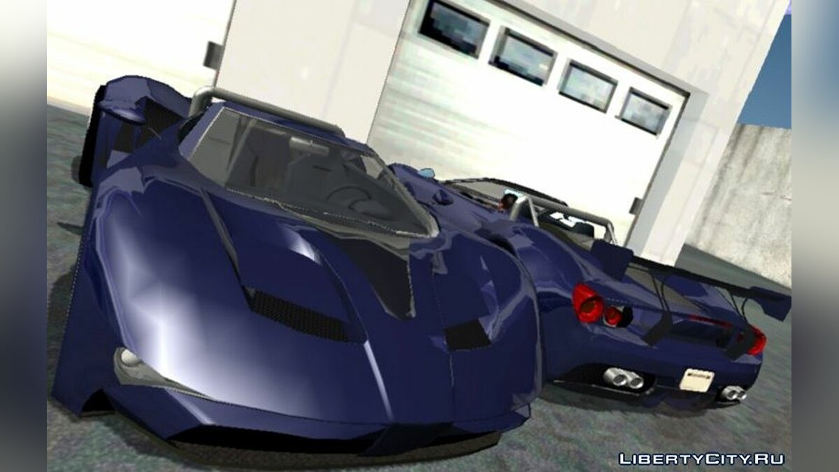 Car Vapid FMJ Roadster (DFF only) for GTA San Andreas (iOS, Android)