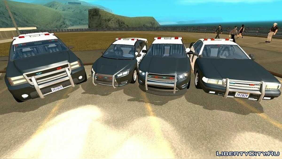 GTA 5 Police Car Collection (DFF only) for GTA San Andreas (iOS ...