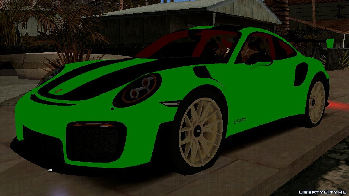 Car Porsche 911 GT2 RS Weissach Package for GTA San Andreas (iOS, Android)