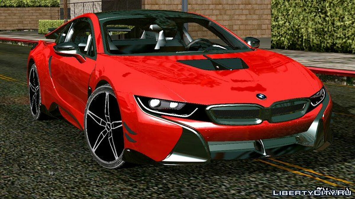 Car BMW i8 for GTA San Andreas (iOS, Android)