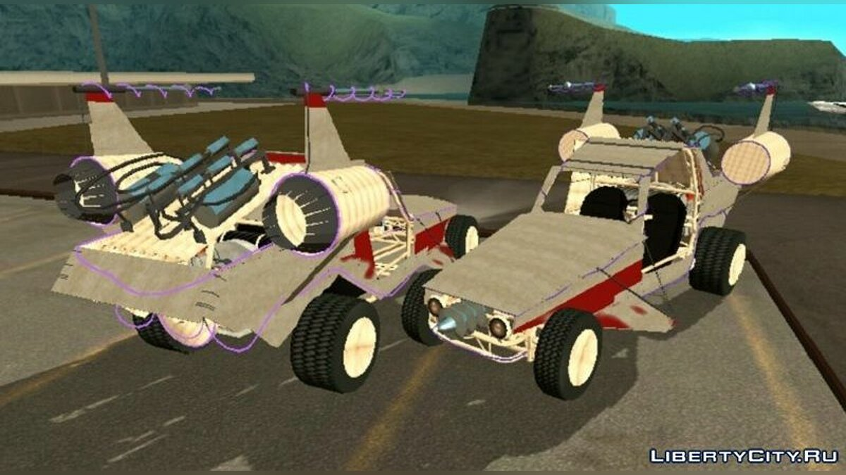 Car BF Space Docker (DFF only) for GTA San Andreas (iOS, Android)