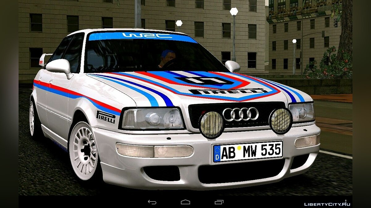 Car Audi 80 Rally (DFF only) for GTA San Andreas (iOS, Android)