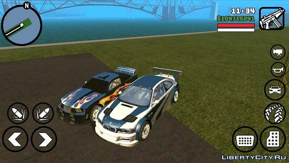Bmw M3 Gtr From Nfs Most Wanted With Sounds For Gta San Andreas Ios Android