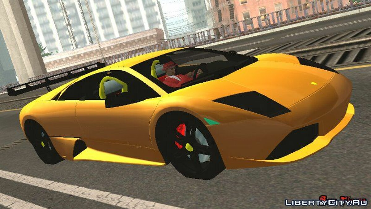 Lamborghini Murcielago LP640 for GTA San Andreas (iOS, Android)