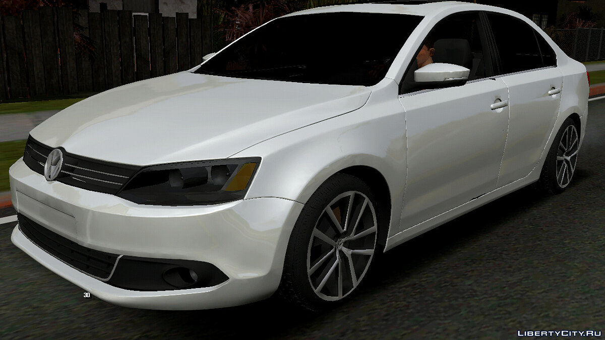Car Volkswagen Jetta TSI (DFF only) for GTA San Andreas (iOS, Android)