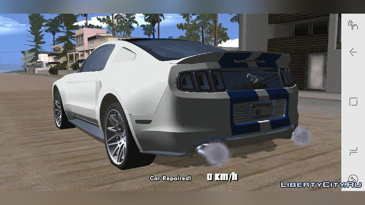 Ford Mustang 2013 for GTA San Andreas (iOS, Android) - Картинка #3