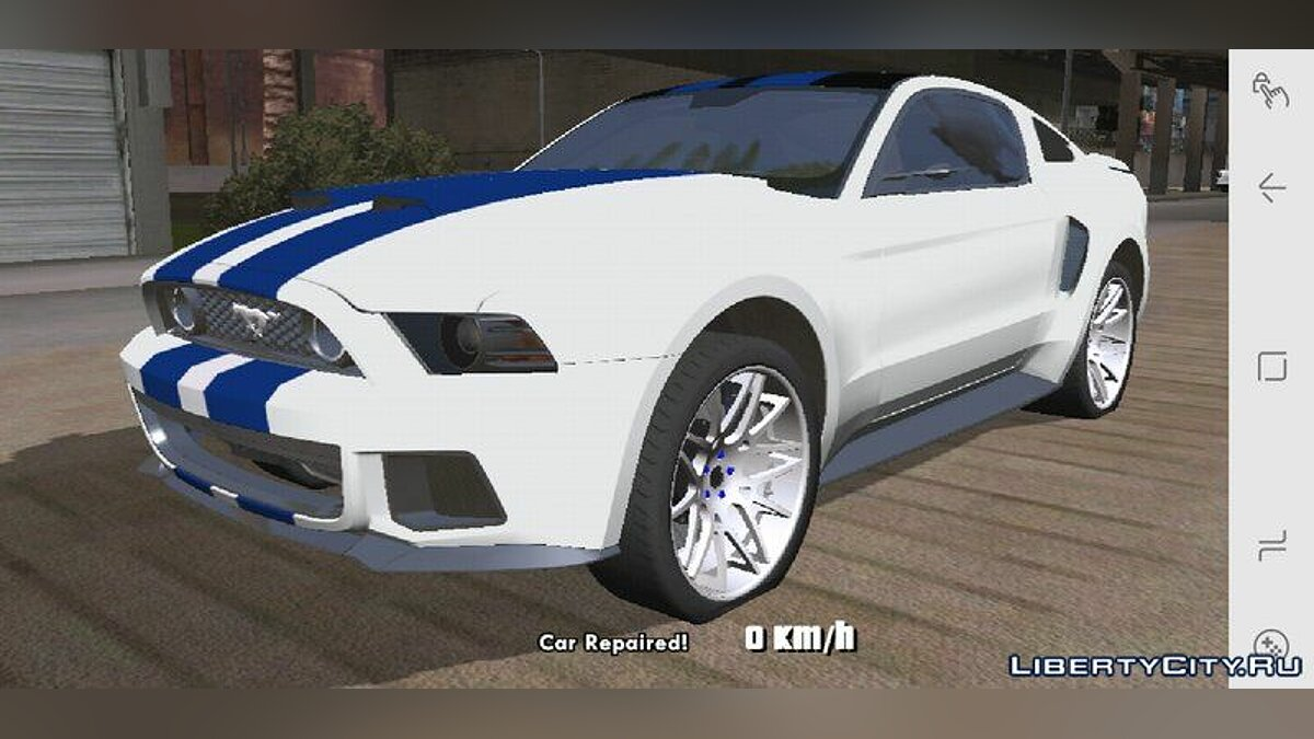 Ford Mustang 2013 for GTA San Andreas (iOS, Android) - Картинка #2
