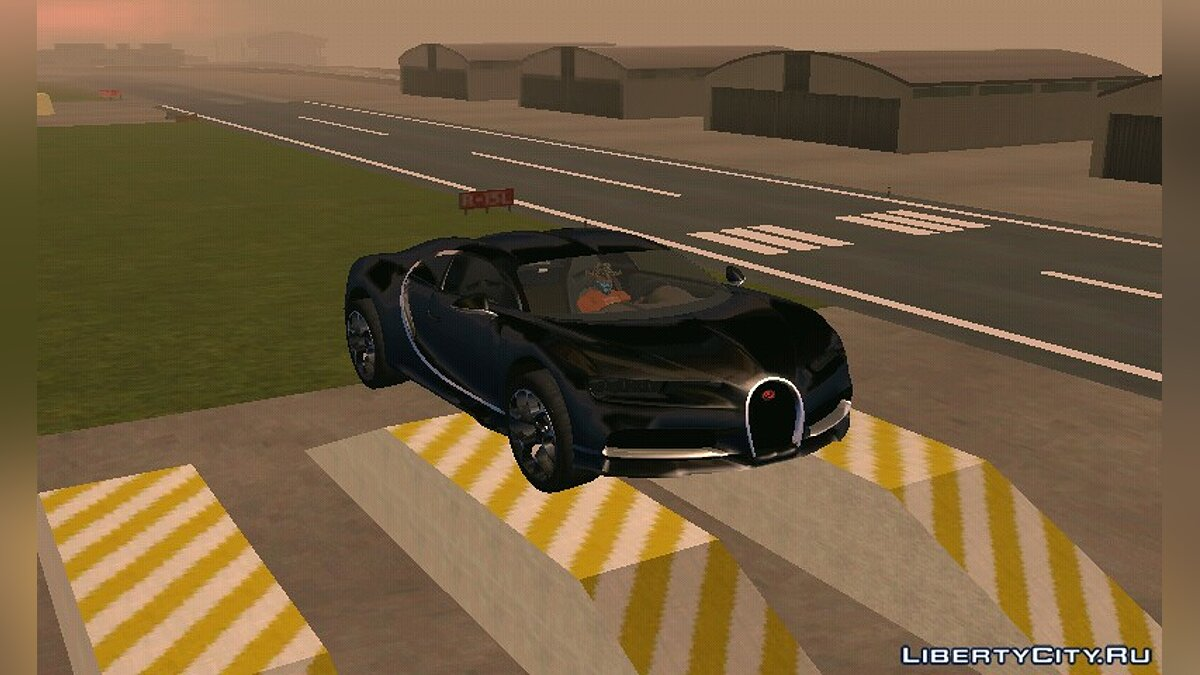 Bugatti Chiron for GTA San Andreas (iOS, Android) - Картинка #5