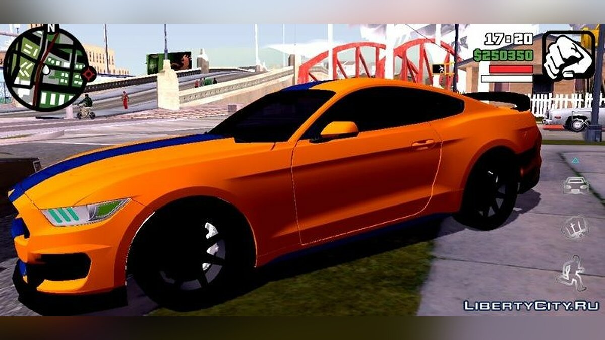 Car Ford Shelby 2019 (DFF only) for GTA San Andreas (iOS, Android)