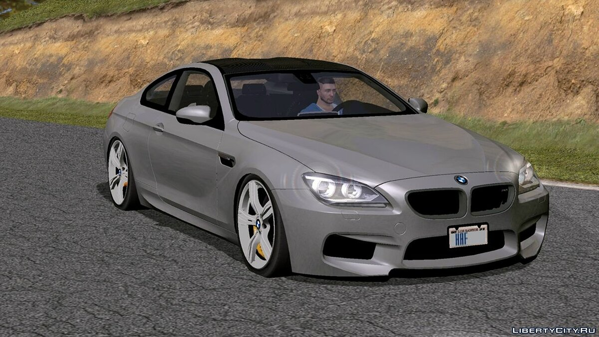Car Bmw m6 for GTA San Andreas (iOS, Android)