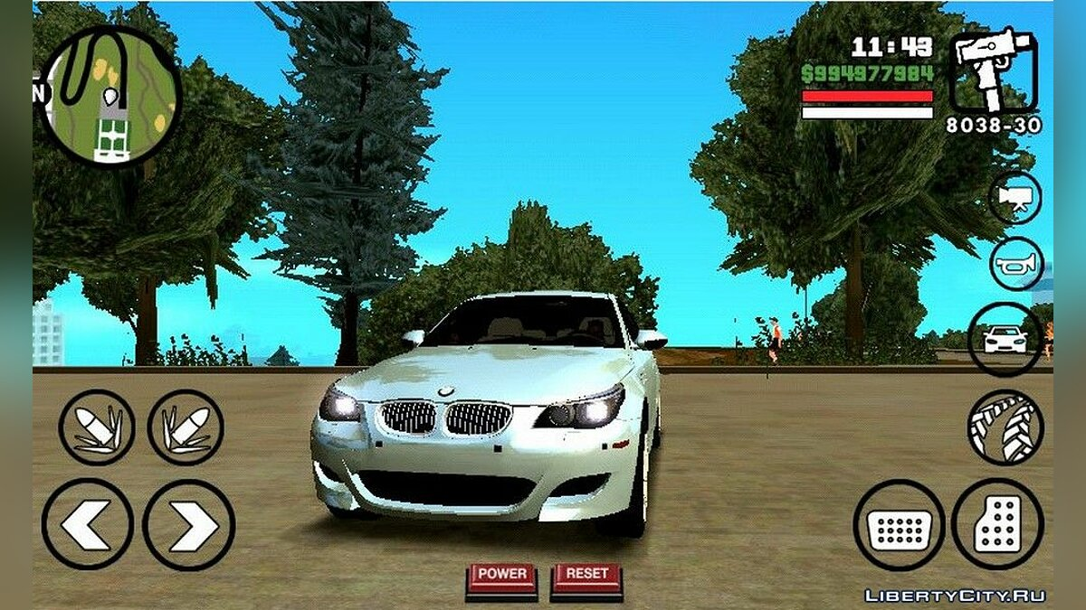BMW M5 for GTA San Andreas (iOS, Android) - Картинка #1