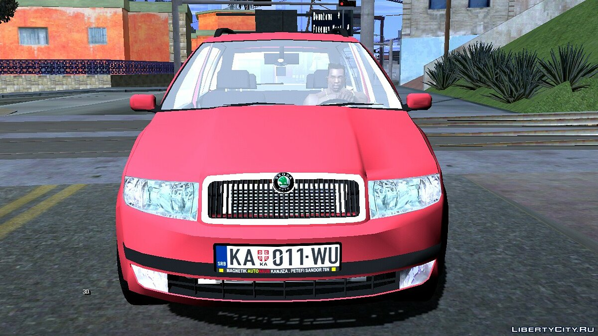 Car 2005 Skoda Fabia Combi for GTA San Andreas (iOS, Android)