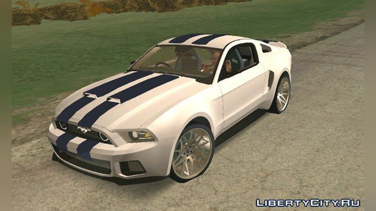Car Shelby GT500 Super Snake for GTA San Andreas (iOS, Android)