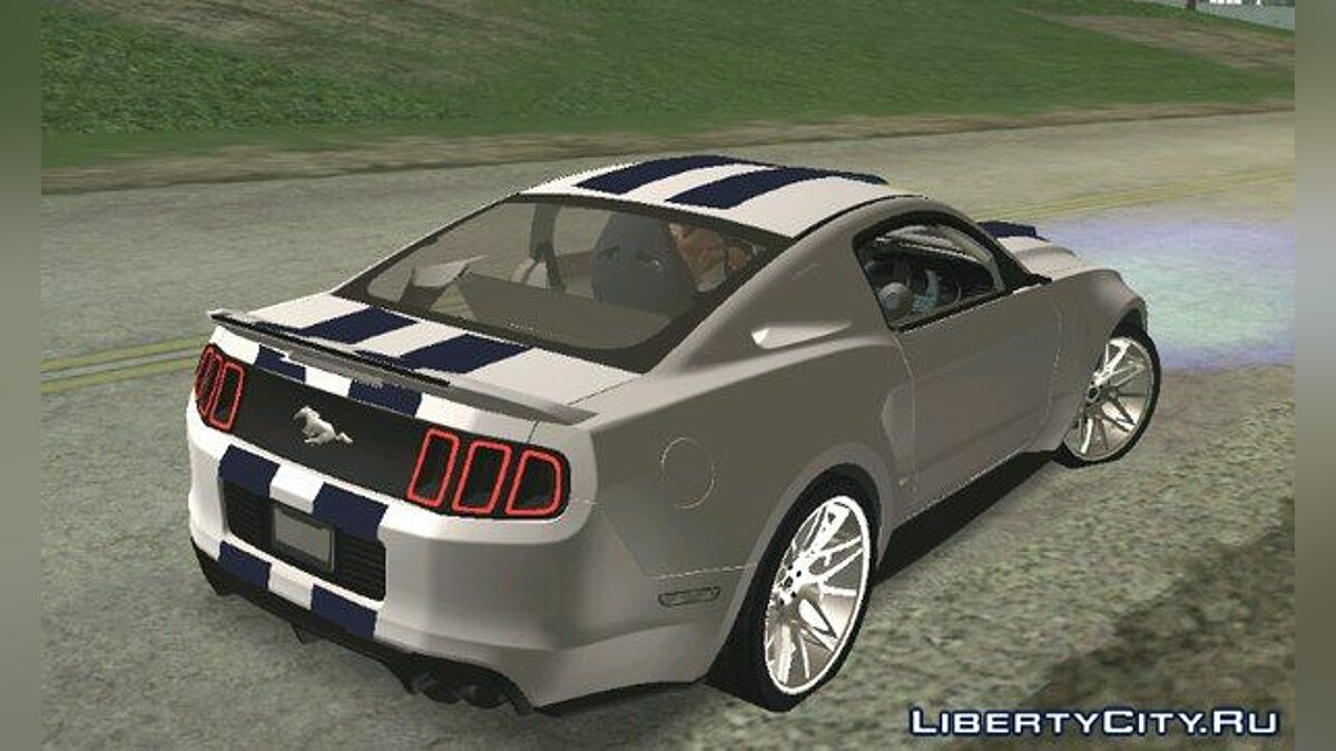 Shelby GT500 Super Snake for GTA San Andreas (iOS, Android) - screenshot #2