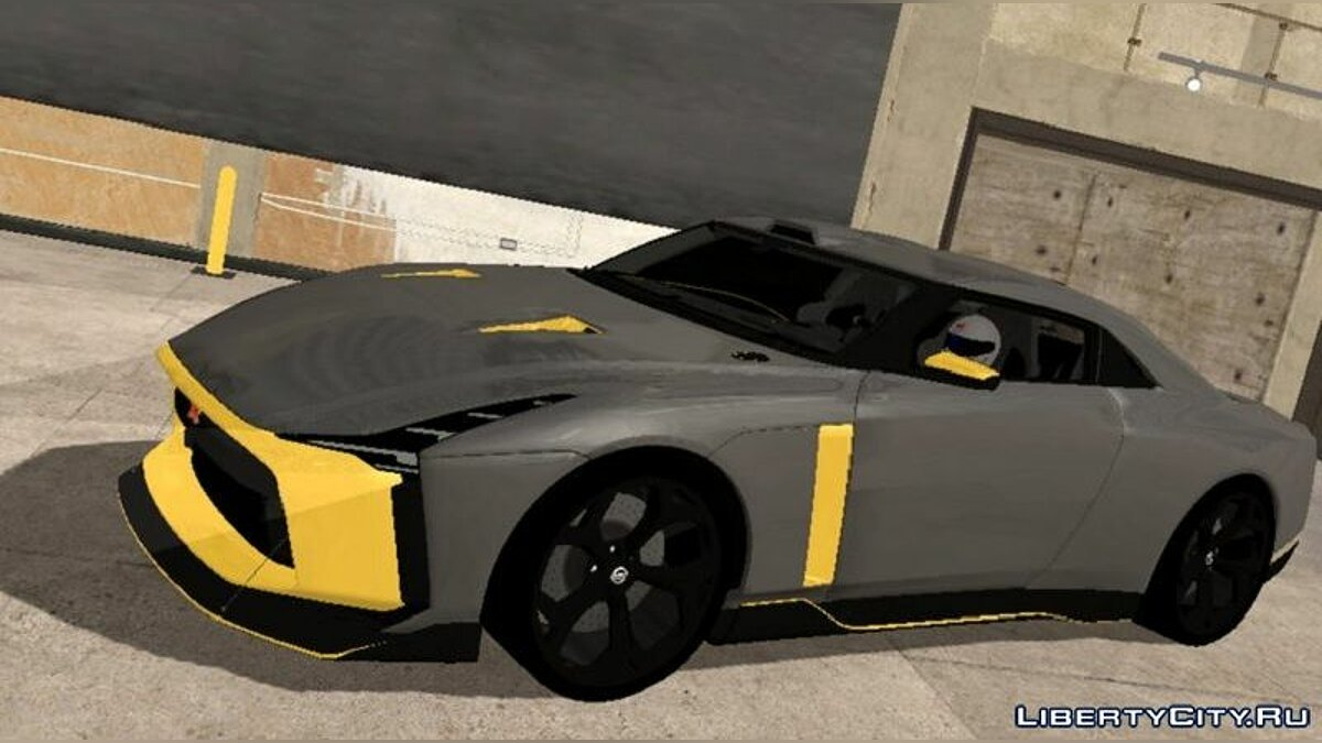 Car Nissan GTR50 for GTA San Andreas (iOS, Android)