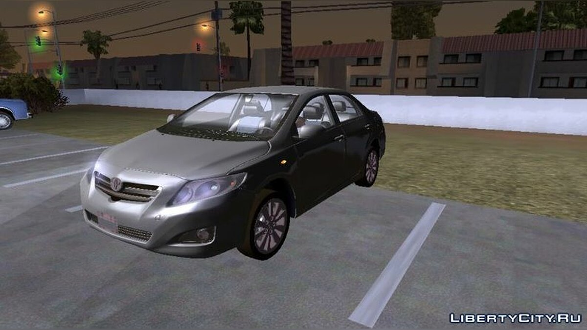 Car Toyota Corolla (DFF only) for GTA San Andreas (iOS, Android)