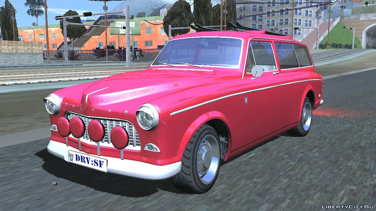 Car Vulcar Fagaloa from GTA 5 for GTA San Andreas (iOS, Android)