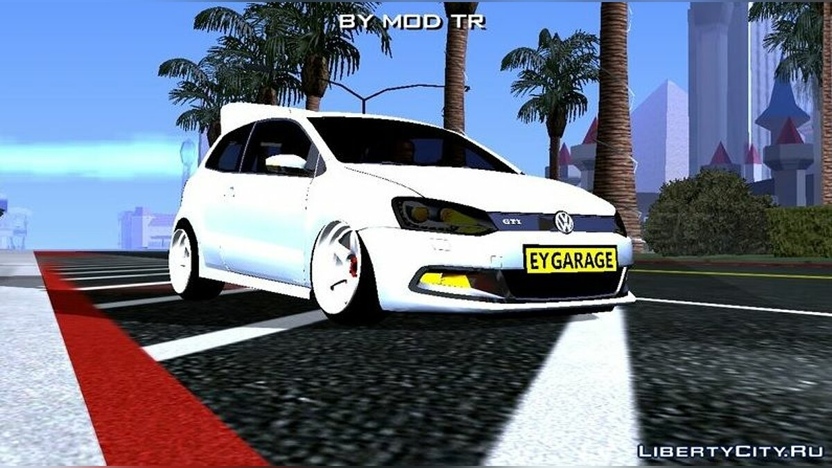 Car Volkswagen Polo (DFF only) for GTA San Andreas (iOS, Android)