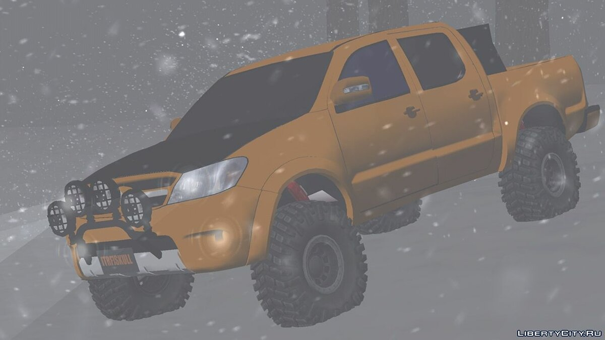 Car Toyota Hilux off-road 4x4 for GTA San Andreas (iOS, Android)