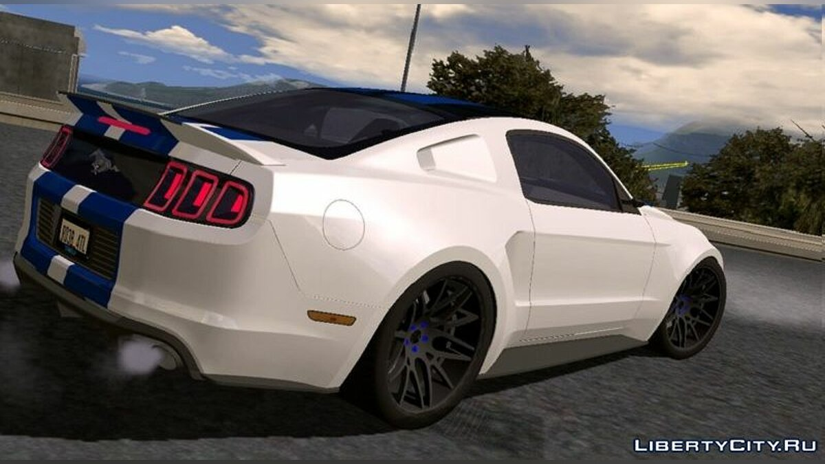 Car Ford Mustang GT 2014 for GTA San Andreas (iOS, Android)