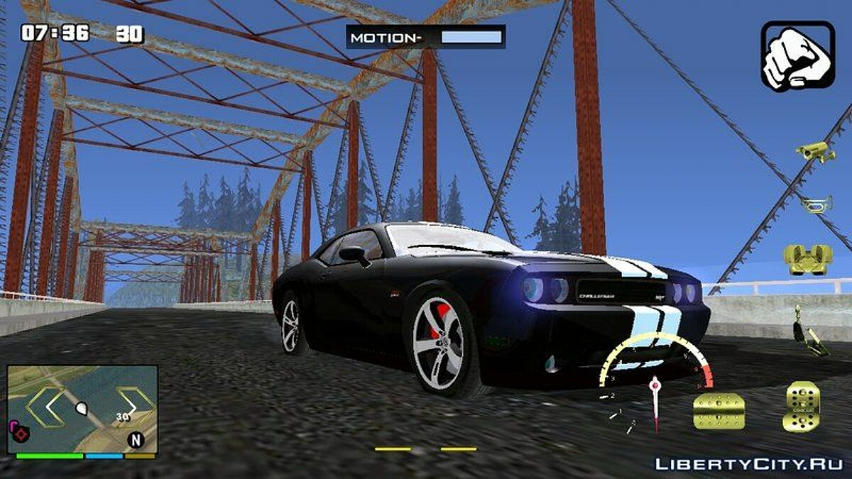 Car Dodge Challenger SRT8 for GTA San Andreas (iOS, Android)