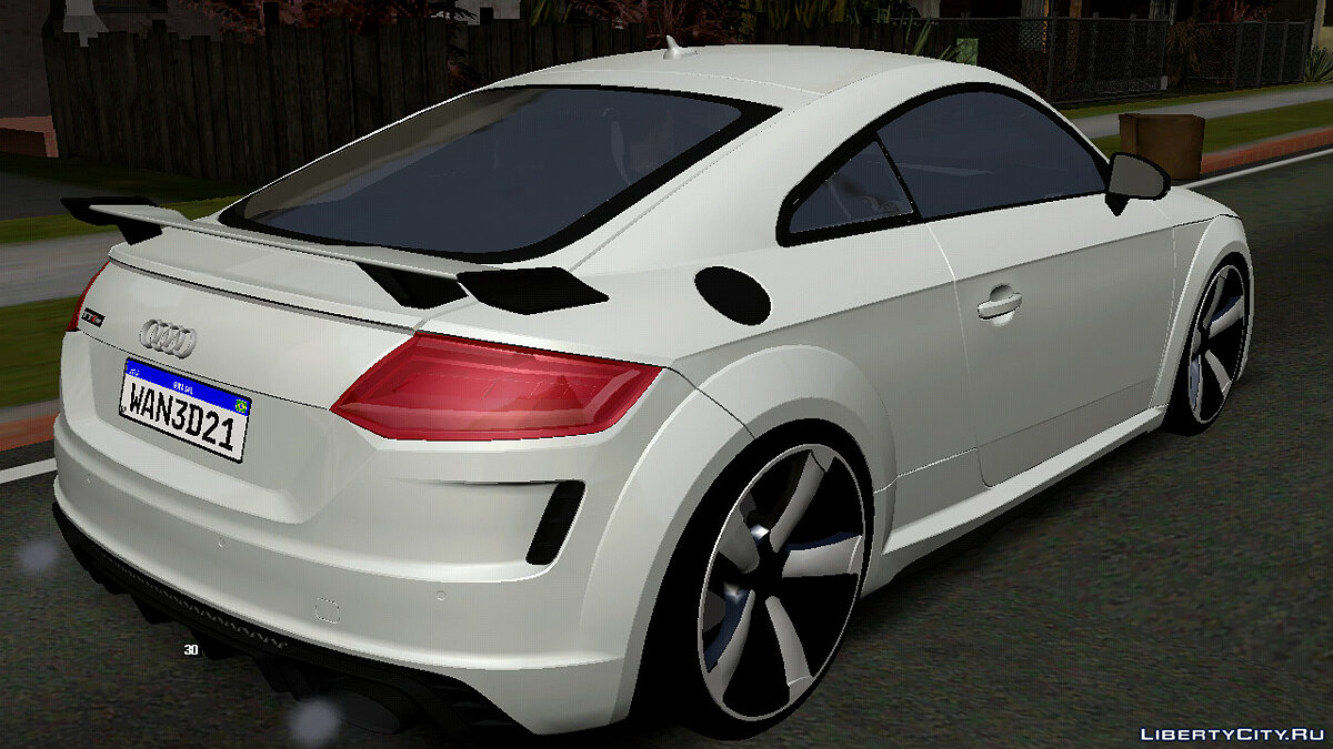 Car Audi TTRS 2021 (DFF only) for GTA San Andreas (iOS, Android)