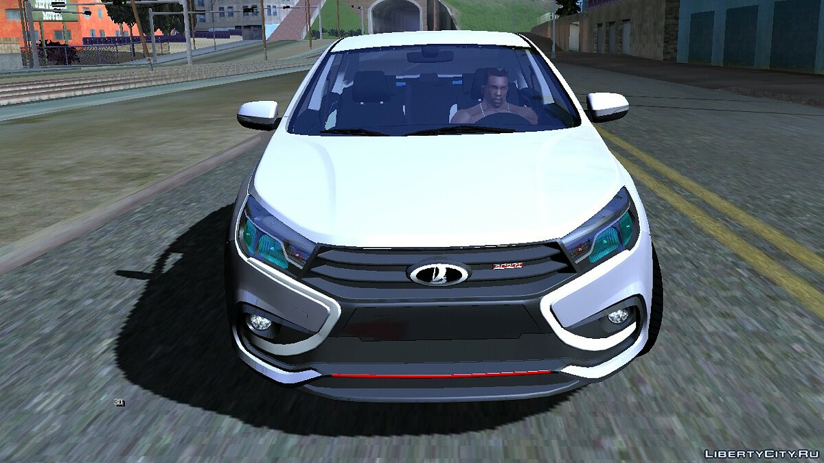 Car Lada Vesta Sport for GTA San Andreas (iOS, Android)