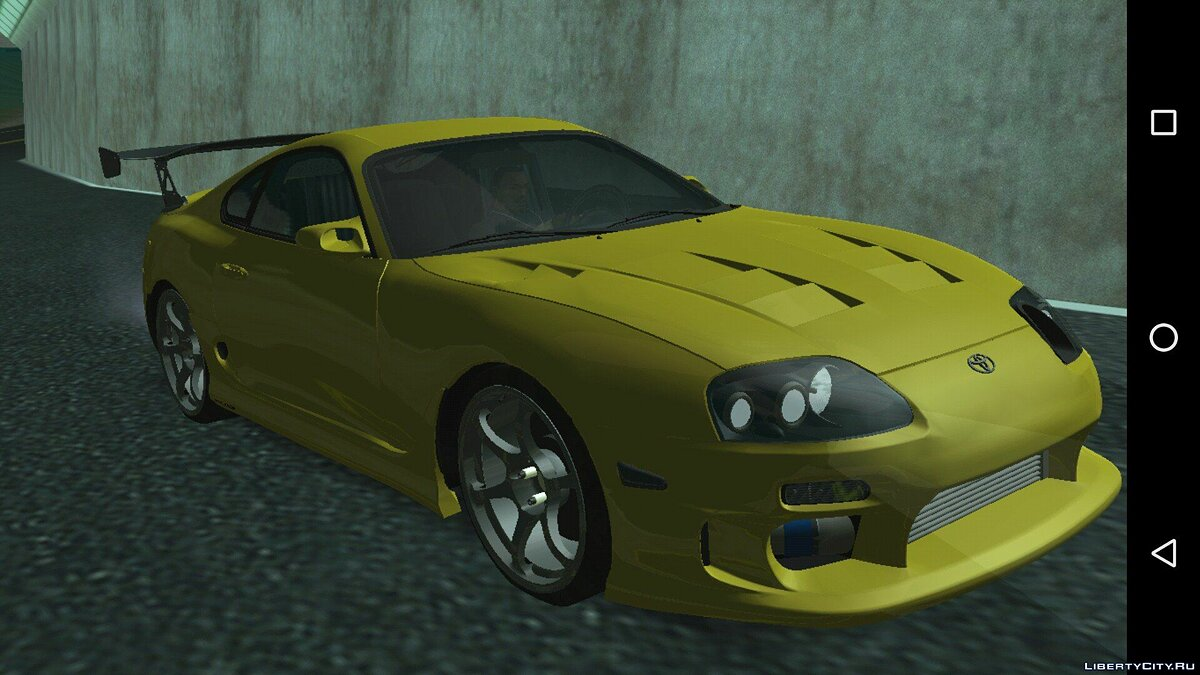 Car Toyota Supra Turbo for GTA San Andreas (iOS, Android)