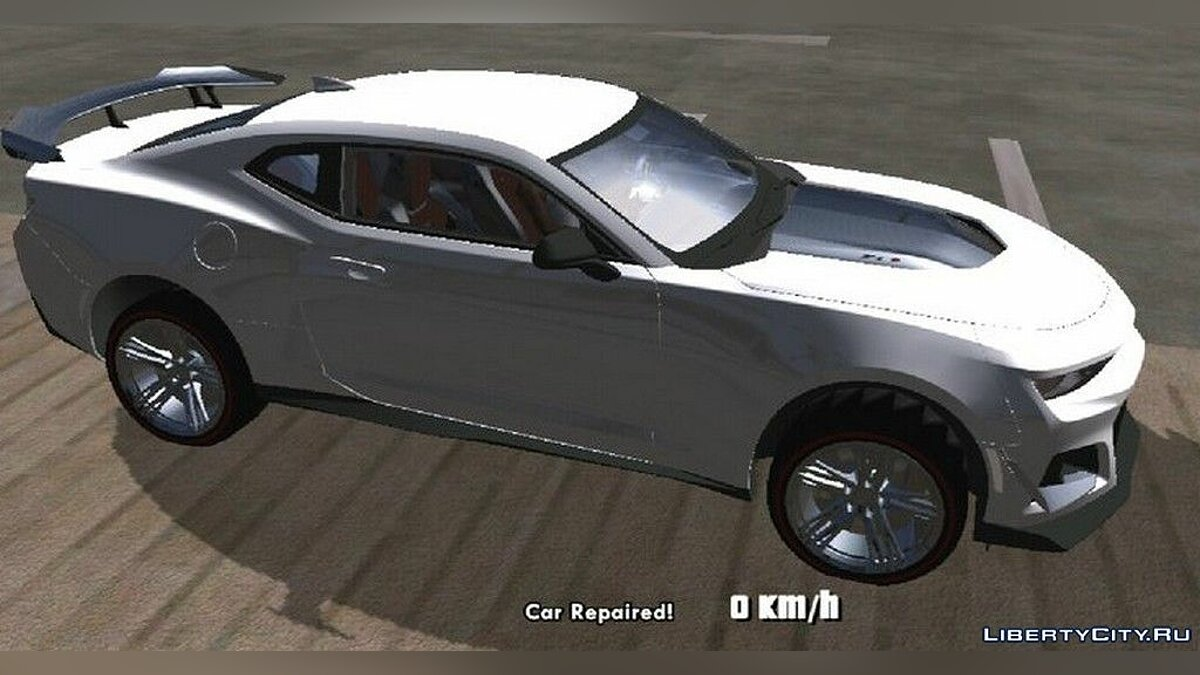 Car Chevrolet Camaro ZL1 1LE 2018 for GTA San Andreas (iOS, Android)
