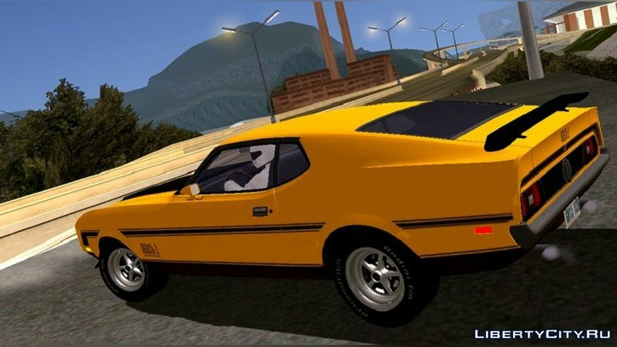 Car Ford Mustang Mach 1 1971 for GTA San Andreas (iOS, Android)