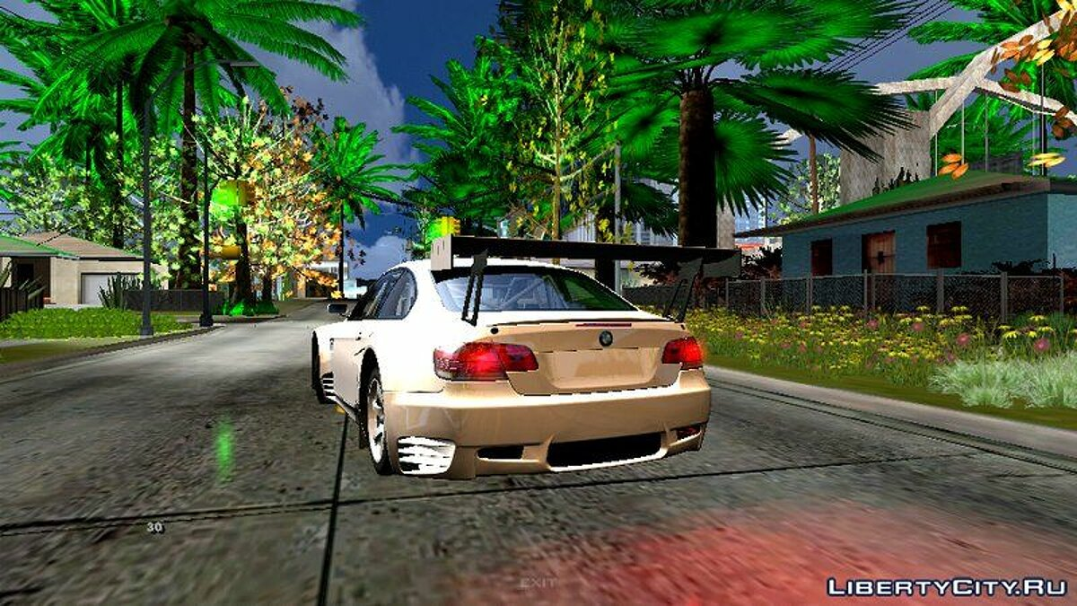 Car BMW M3 GT2 for GTA San Andreas (iOS, Android)