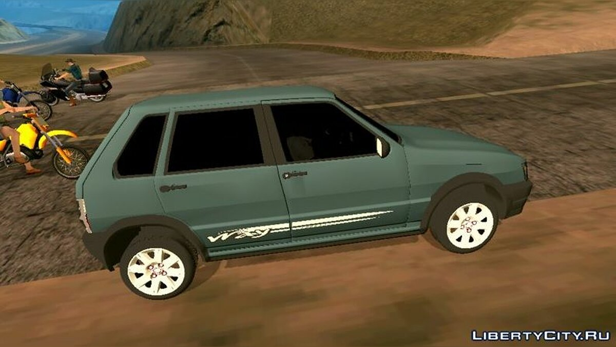 Car Fiat uno for GTA San Andreas (iOS, Android)