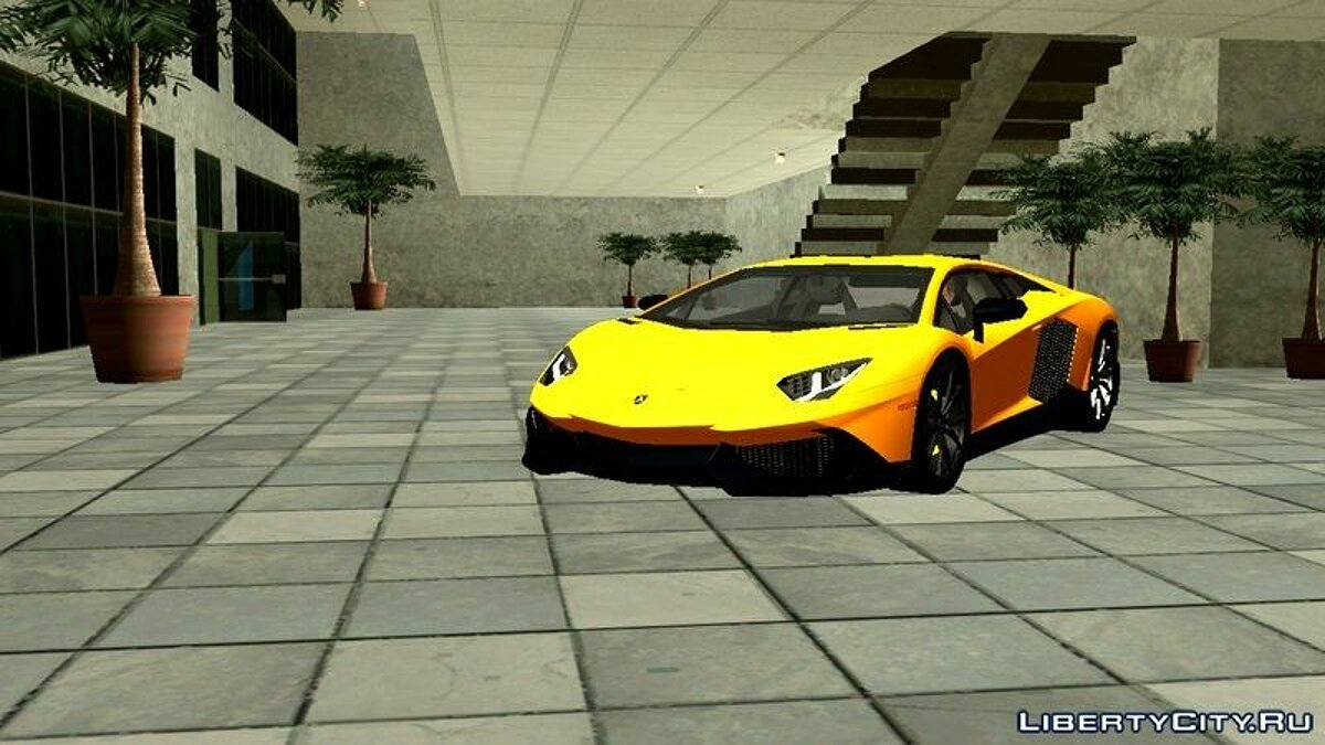 Lamborghini Aventador 50th Anniversario for Android for GTA San Andreas (iOS, Android) - Картинка #2