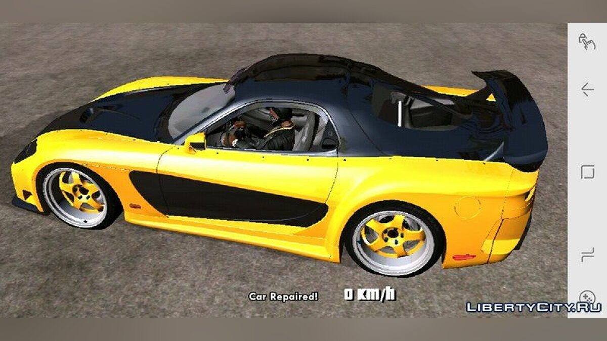 Car Mazda RX7 Veilside Fortune for GTA San Andreas (iOS, Android)