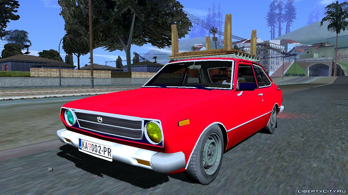 Car 1977 Toyota Corolla for GTA San Andreas (iOS, Android)