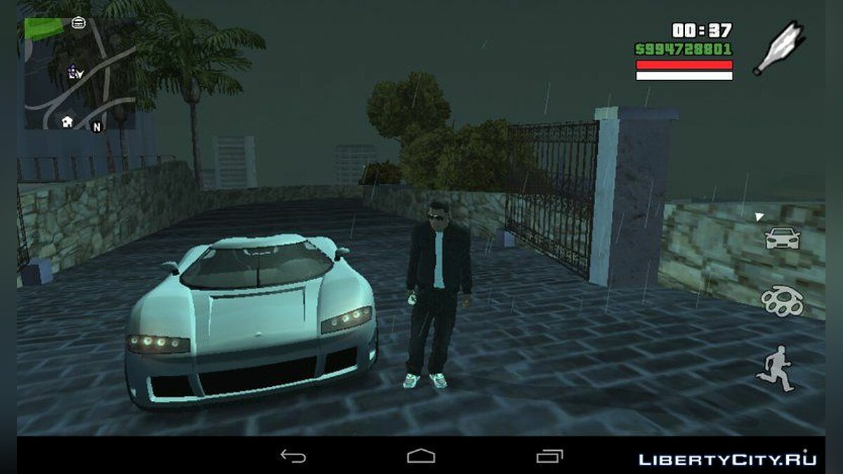 Entity XF из GTA 5 for GTA San Andreas (iOS, Android) - screenshot #2
