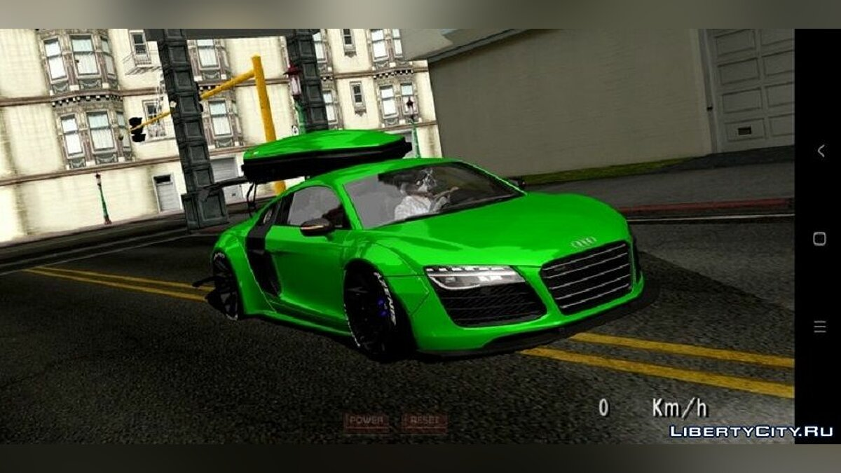 Car Audi R8 Coupe Plus Liberty Walk for GTA San Andreas (iOS, Android)