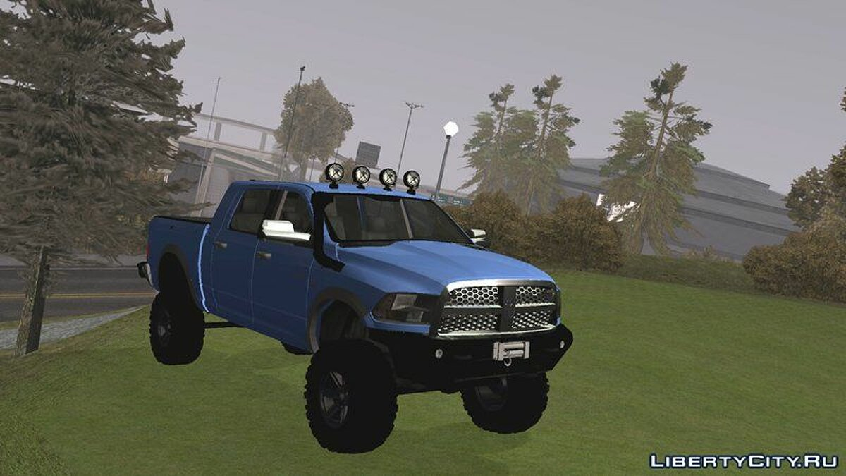Car Dodge Ram 2500 Off-Road for GTA San Andreas (iOS, Android)