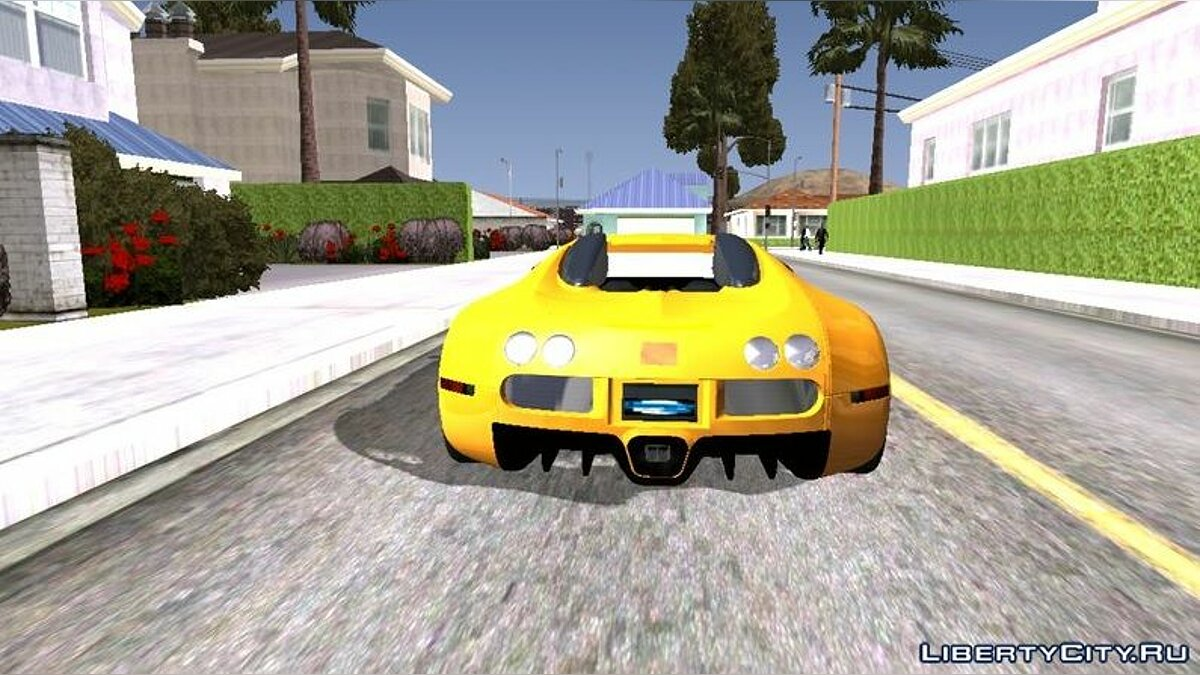 Car Bugatti Veyron (DFF only) for GTA San Andreas (iOS, Android)