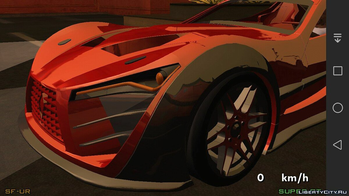 Felino CB7 Asphalt 8 for GTA San Andreas (iOS, Android) - screenshot #3