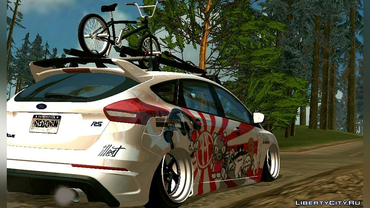 2017 Ford Focus RS JDM for GTA San Andreas (iOS, Android) - Картинка #3