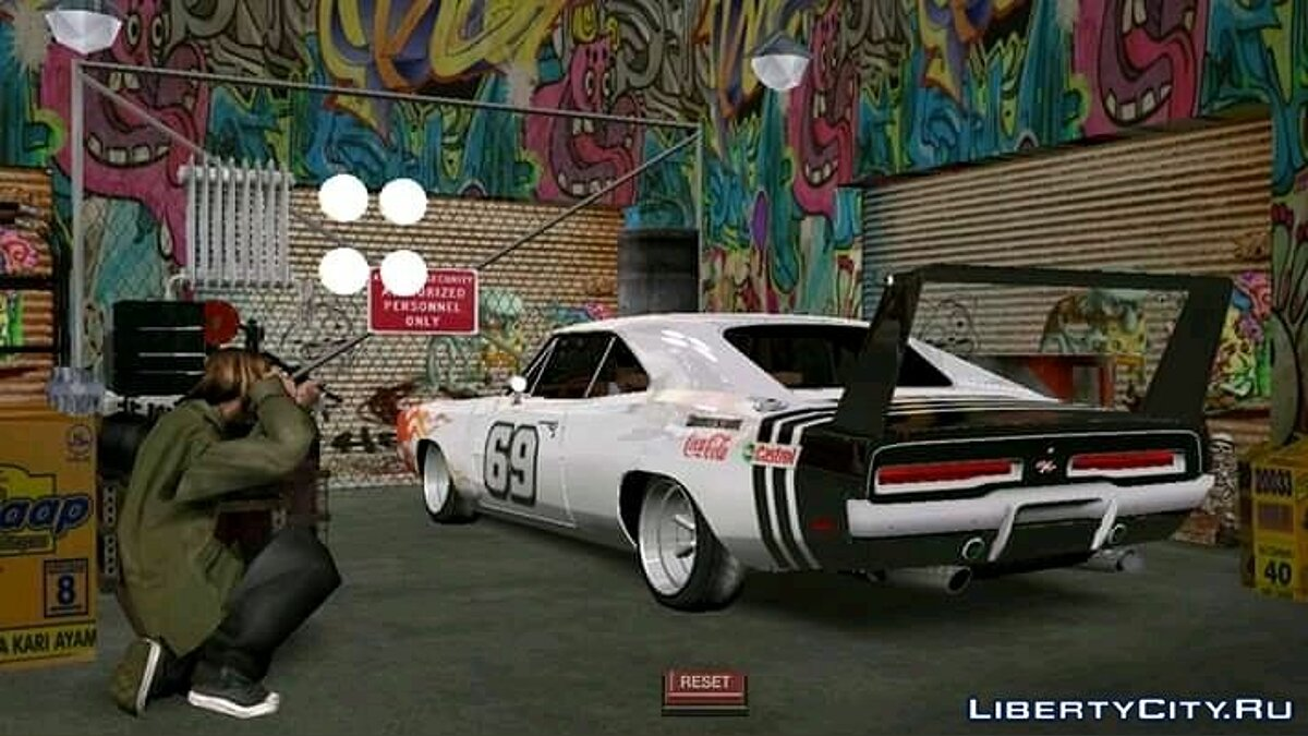 1969 Dodge Charger 69 for GTA San Andreas (iOS, Android) - Картинка #2