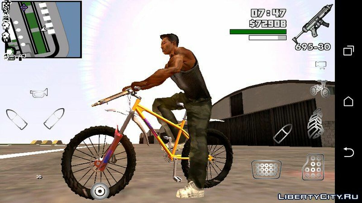 Bike from GTA 5 for GTA San Andreas (iOS, Android) - Картинка #1