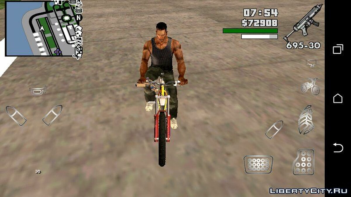 Bike from GTA 5 for GTA San Andreas (iOS, Android) - Картинка #2